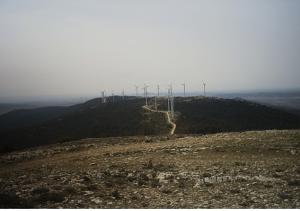 Vista desde el Pico Pelado (o Pico Telégrafo) (1422m) hacía el sur.