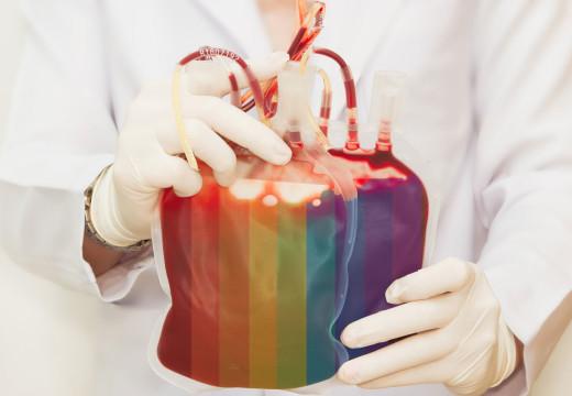 ¿Sangre homosexual? No, gracias