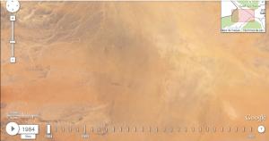 Una zona cualquiera del desierto de Arabia Saudí (1984)