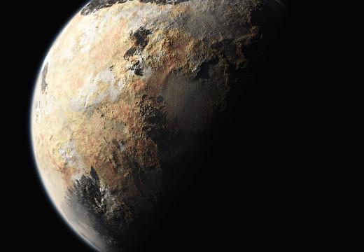 Una mirada al horizonte: Plutón