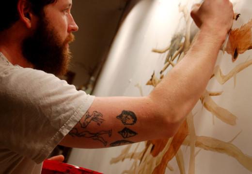 Ciencia y lápices VI: Ryan Mclennan y la fauna norteamericana