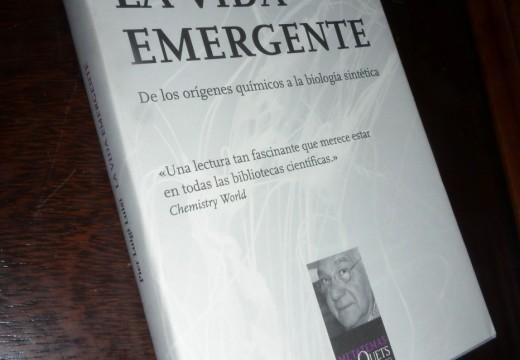 Reseña literaria: La vida emergente (Pier Luigi Luisi)