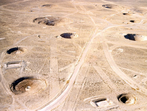 Lugar supuestamente utilizado para ensayos atómicos y otros menesteres bélicos. Fte:www.ikff.no