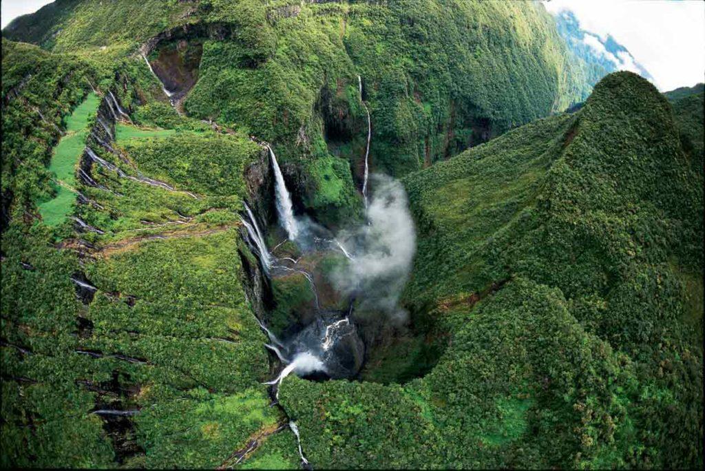 Cascadas de Trou de Fer